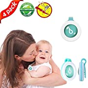 Panshi Mosquito Repellent Clip Bag, All Natural Plants Insect Repellent for Baby,Adults (4 PCS)