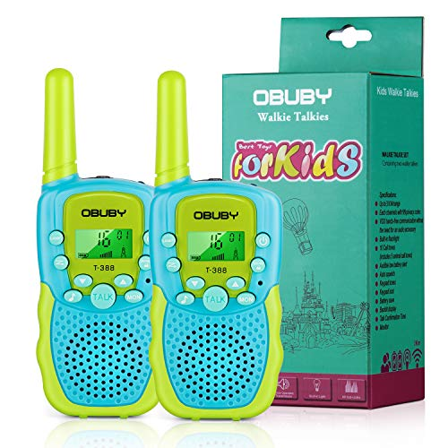 Obuby Walkie Talkies for Kids, 22 Channels 2 Way Radio...