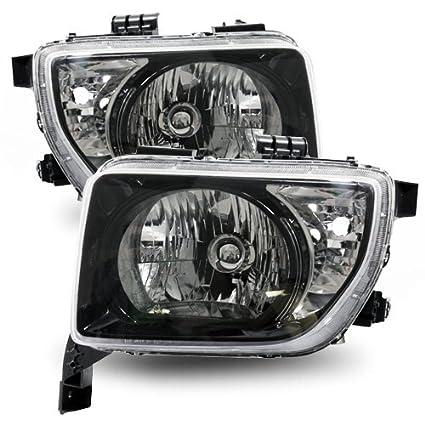 Amazon Com 07 08 Honda Element Ex Lx Headlights Headlamps Head