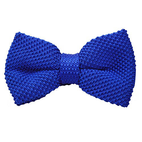 Alizeal Mens Knitted Bow Tie Knitting Casual Tuxedo Bowties