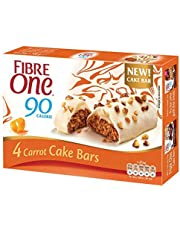 Fibre One 90 Calorie Carrot Cake Bars 25g (Pack of 20 Bars) (5 Packs of 4 Bars)