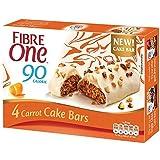 Fibre One 90 Calorie Carrot Cake Bars 25g (Pack of 20 Bars) (5 Packs of 4 Bars)