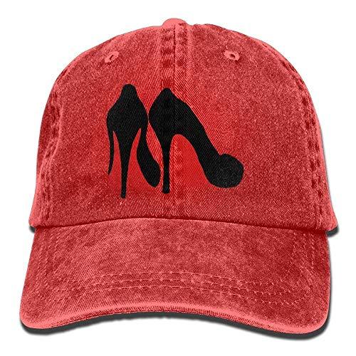 Caps Black Tu Soy béisbol Curved Denim Heel Hat Gorras No Como Adjustable Shoe Women Baseball High xZFEqq4n