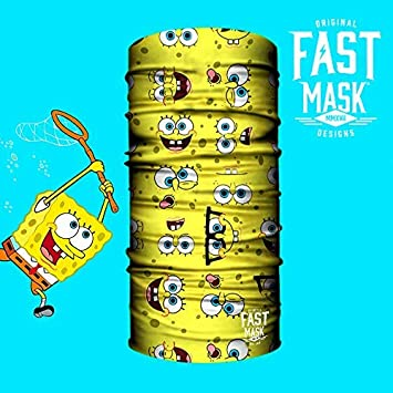 100/% Microfiber Fast Mask Face Shield for Men Windproof with UV Outdoor Sun Protection Women /& Kids - Shimmering Scales