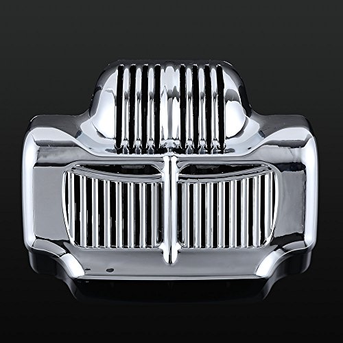 Price comparison product image Chrome Plated Stock Oil Cooler Cover for Harley-Davidson Touring Road Street Glides 2011-2016