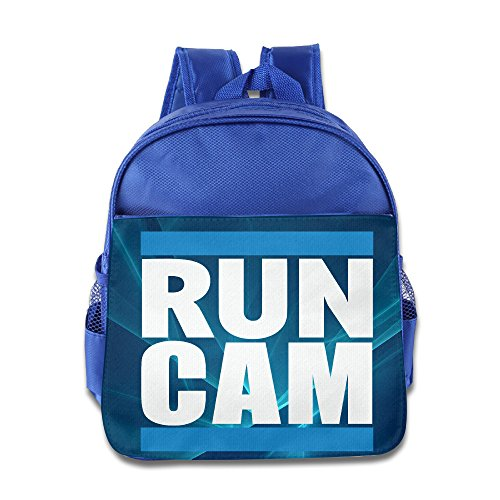 RUN DMC Carolina Panthers Run Cam Newton Children Backpack RoyalBlue Bag