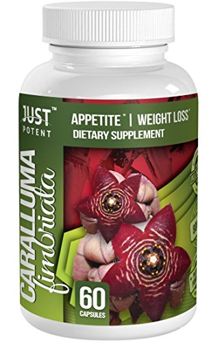 Just Potent Caralluma Fimbriata Extract :: All Natural Weight Loss Supplement and Appetite Suppressant :: 800mg Per Serving :: 60 Capsules