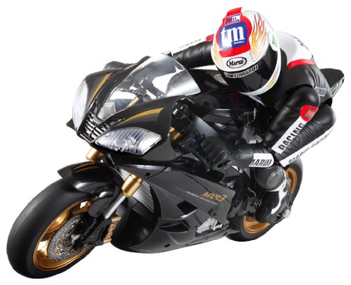 Electric RC Motorbike Street Racer (Black)