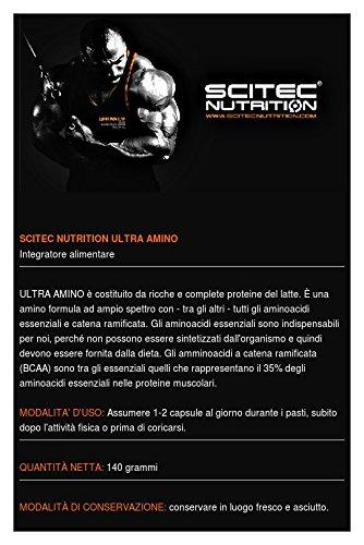 Amazon.com: Scitec ultra amino 200caps: Health & Personal Care