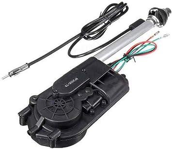 Kit de Antena automática Universal para Coche de 12 V, Radio Am y FM automático, Aire de Poste eléctrico