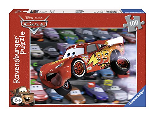 Ravensburger Disney Cars: Cars Everywhere (100-Piece) Puzzle (Puzzle Cars Pixar Disney)