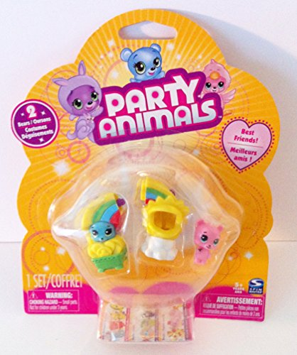 Party Animals 2 Bears and Rainbow Costumes by