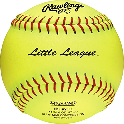 PX11RYLLL Rawlings Sporting Goods Official Little League Softball 12 Count