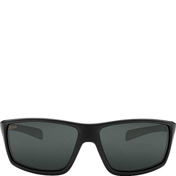 10d2724975 Amazon.com  Hobie Eyewear Topanga Sunglasses (Satin Black Frame Grey  Polarized Pc Lens)  Clothing