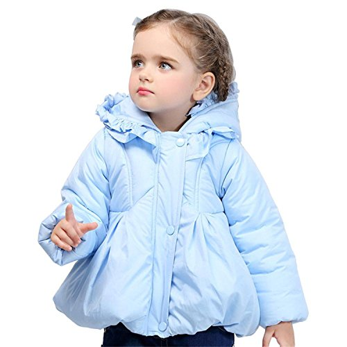 f8d2afc7110 Image Unavailable. Image not available for. Color  Winter Down Jacket Baby  Girls Parkas Padded Dress Coat