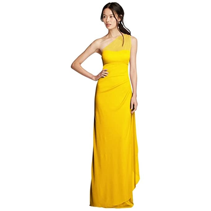 70a1e484918 Find davids bridal sunflower yellow bridesmaid dresses