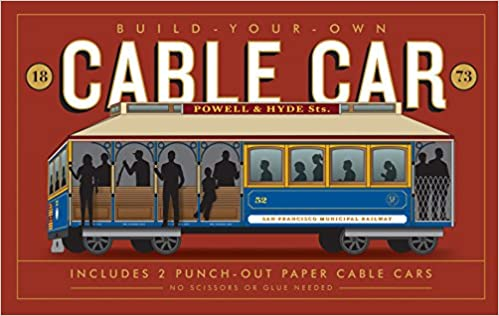 Build-Your-Own Cable Car: Includes 2 Punch-Out Paper Cable Cars
