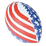 Patriotic Stars And Stripes American Flag Football (1)