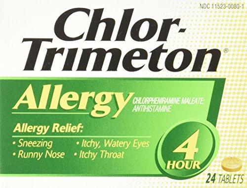 Chlor-Trimeton Allergy 4hr Tablet, 24-count Boxes (Pack of 3) by Chlor-Trimeton