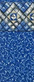 Smartline Aspen Creek 24-Foot Round Liner | UniBead Style | 52-Inch Wall Height | 25 Gauge Virgin Vinyl | Designed for Steel Sided Above-Ground Swimming Pools
