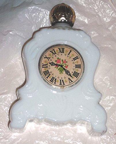 (Avon Vintage Perfume Bottles,1960-70's (White Table Clock))