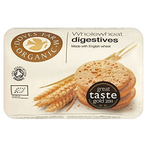 Doves Farm Organic Wholewheat Digestives (200g) - Pack of 2