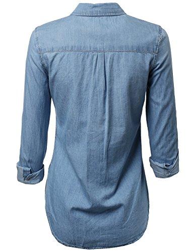 The 8 best chambray shirt women