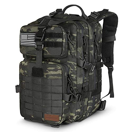 5227541d84802 SunsionPro MTB-231 Military Tactical Backpack Large Army 3 Day Assault Pack  Molle Bug Out