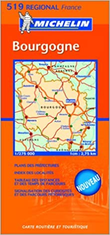 Carte Routiere Bourgogne Gratuite.Amazon Fr Carte Routiere Bourgogne Cartes Regional