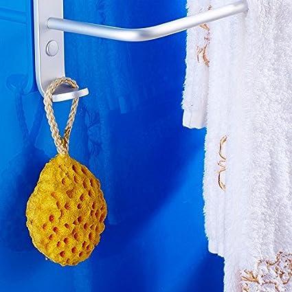 ZXC Bathroom racks Toalla de baño de Aluminio Espacio de Rack, con Tres Capas de Toalla Bar, baño Ducha Toallas sin perforación, Toalla de baño, ...