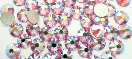 Swarovski Crystals Cristal Rose Ab (209 Ab) faux diamant Nail Art- 1.8Mm (Ss5) 60 Pieces Swarovski Element