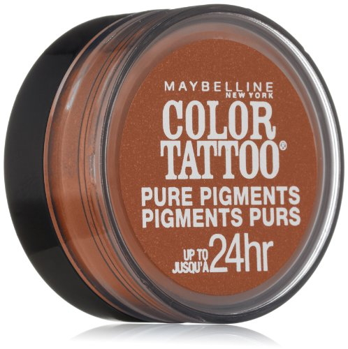 Maybelline New York Eye Studio Color Tattoo Pure Pigments, Breaking Bronze, 0.05 Ounce