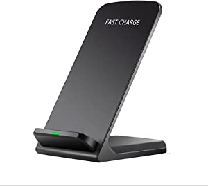 20W Max Qi-Certified Fast Wireless Charging Stand Compatible with Apple iPhone 12/SE 2/11/X/XR/8,AirPods ;FDGAO Upright 15W Wireless Charge Docks for Samsung Galaxy S21/S20/S9/Note 20 (NO AC Adapter)