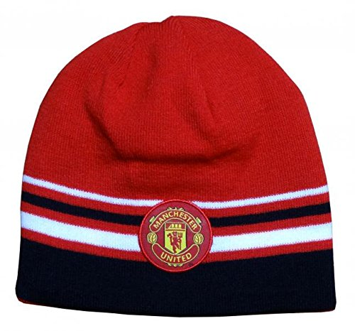 Amazon.com   Manchester United Style Beanie 7e29f1ab6b6