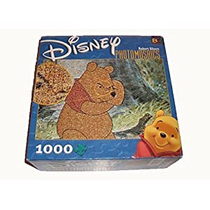 Buffalo Games Thinking Winnie Photomosaic 1026 Piece Puzzle 81305 By Buf
