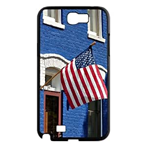 Customized Phone Case for SamSung Galaxy Note2 n7100 - American Flag case 2