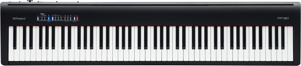 Roland, 88-Key Digital Piano Black, FP-30 (FP-30-BK) by Roland