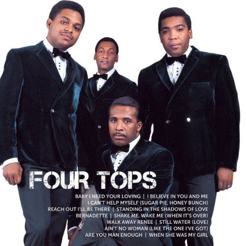 CD : The Four Tops - Icon (Icon Title)