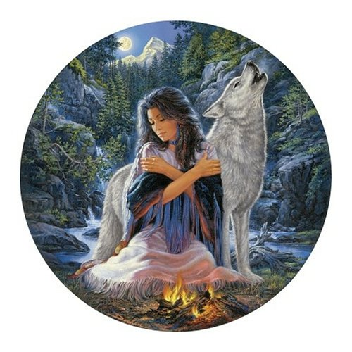 Peaceful Spirit Round Jigsaw Puzzle 500pc