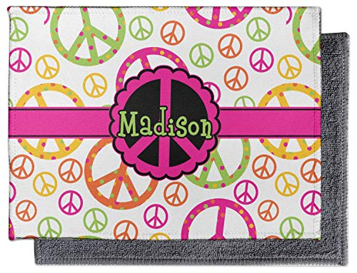 - YouCustomizeIt Peace Sign Microfiber Screen Cleaner (Personalized)
