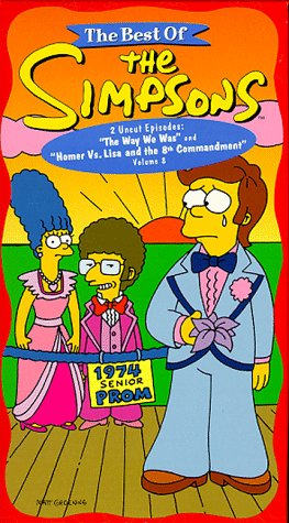 The Best of The Simpsons, Vol. 8 - The Way We Was/Homer Vs. Lisa and the 8th Commandment [VHS]