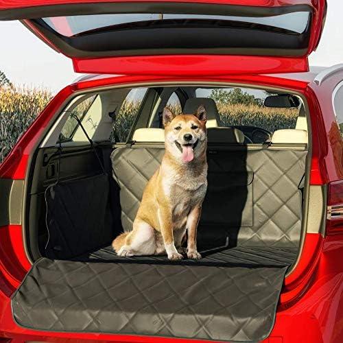 Belisy Universal Kofferraumschutz Für Hunde Mit Seiten Ladenkantenschutz Wasserdichte Luxus Kofferraummatte Rutschfest 185 X 101 X 35 Cm Haustier