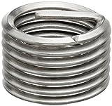 E-Z Lok Threaded Insert, 18-8 Stainless Steel, Helical, M4-0.7 Internal Threads, 8mm Length (Pack of 10)