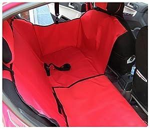 Seven Top Dual-use Cradle Dog Car Rear Back Seat Cover Pet Mat Hammock Cushion Protector