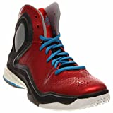 adidas Performance D Rose 5 Boost J Kids' Basketball Shoe (Big Kid), Scarlet/Solar Blue, 7 M US Big Kid