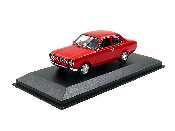 Rot Ford Escort 1 1968 Minichamps // Maxichamps 1:43