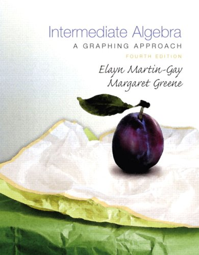 Intermediate Algebra: A Graphing Approach Value Package (includes Student Solutions Manual) (4th Edition)