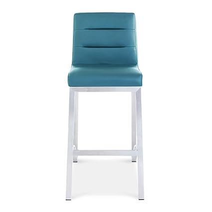 Amazon Com Zuri Furniture Lynx Counter Height Contemporary Bar