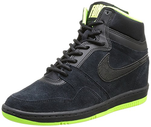 3e549123b6cf3 NIKE Force Sky High Womens Basketball Shoes 644413-006 Black - Import It All