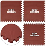 Best Floor Pad SoftFloors Burgundy Total